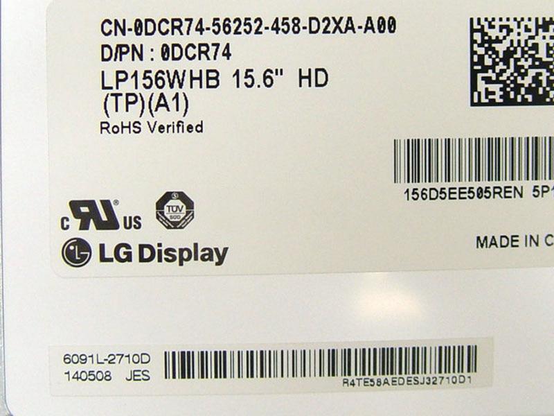 Pour LG LP156WHB-TPA1 LP156WHB TPA1 LP156WHB (TP) (A1) led Affichage Matrice Ordinateur Portable 15.6