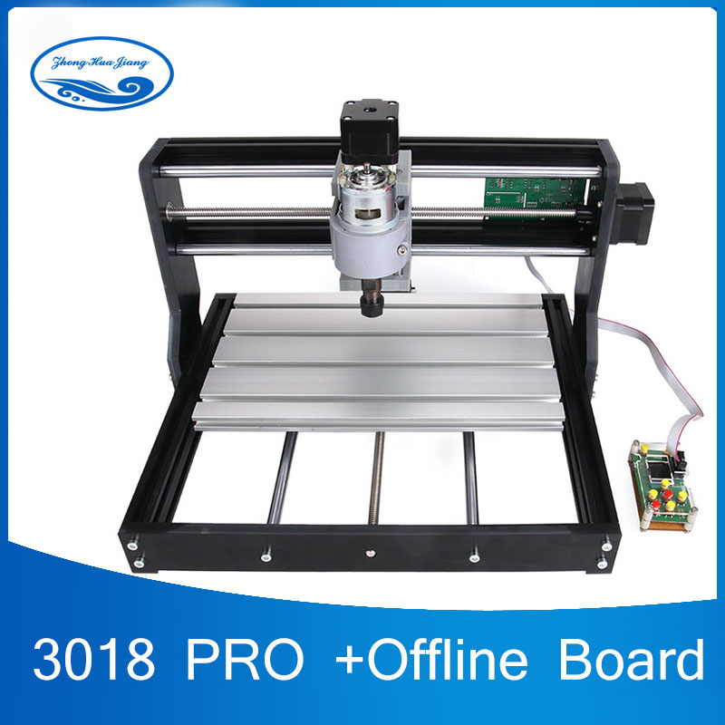 CNC 3018 Pro GRBL control Diy mini cnc machine,3 Axis pcb Milling machine,Wood Router laser engraving,with offline controller offline dsp control system engraving machine ly cnc 6090l linear guide engraving machine cnc router