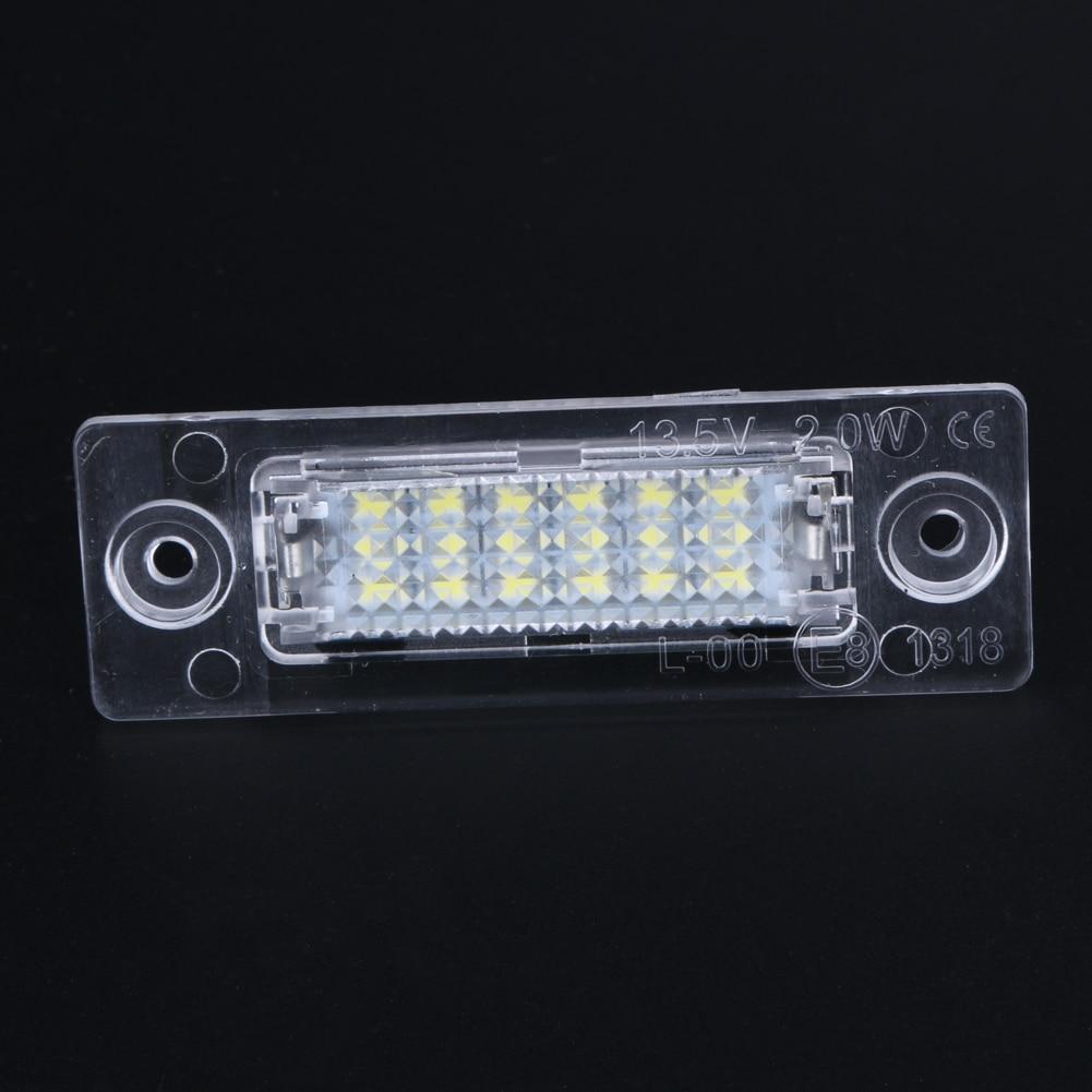 2szt LED Lampa oświetlenia tablicy rejestracyjnej LED Lampa tylna - Światła samochodowe - Zdjęcie 6