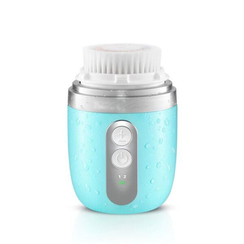 ZD 1Pc Professional Skin Care Mini Electric Facial Cleaning Massage Brush Portable Sonic Face Washing Machine Hot Sale XN258M zd skin care mini electric facial cleaning massage brush waterproof silicone face cleanser dirt remove pro beauty tool xn123m