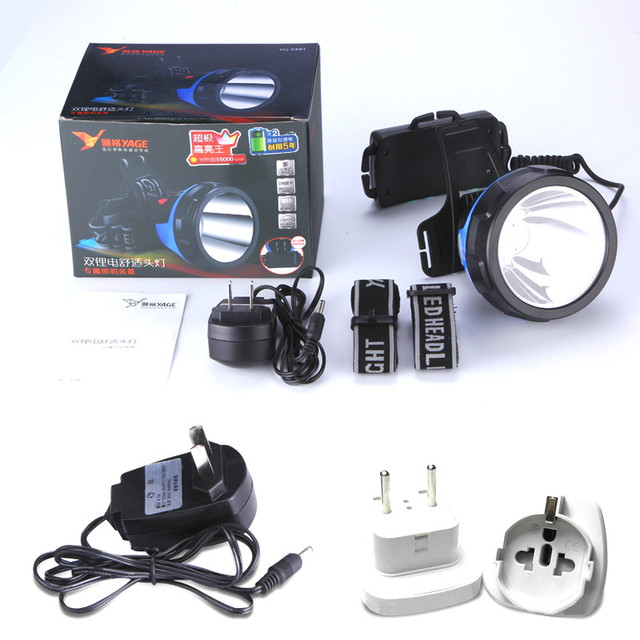 Yage Rechargeable Flashlight Headlamp 5