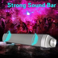 Wireless Bluetooth Home Theater Soundbar Bluetooth Subwoofer MP3 Multimedia Speaker System With LED Indicator