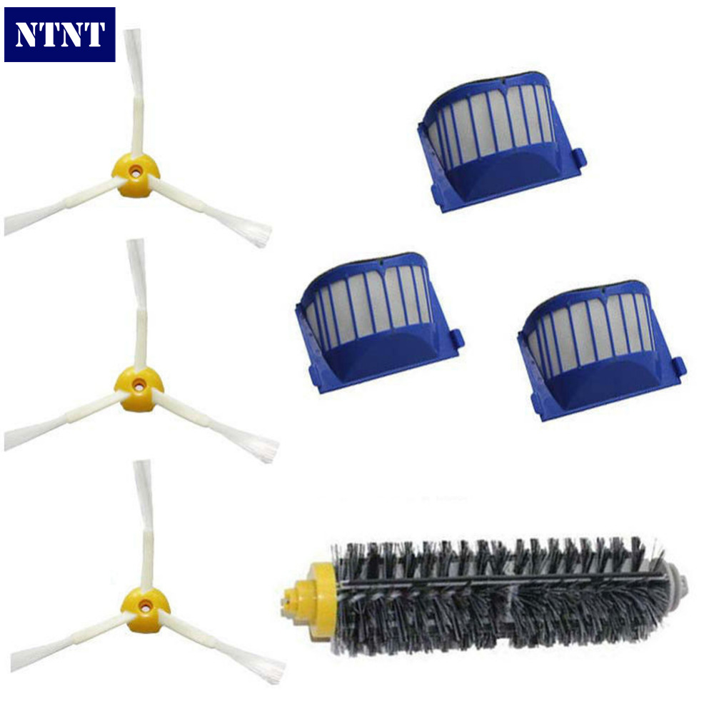 NTNT Free Post New AeroVac Filter Brush for iRobot Roomba 600 Series Vacuum 3 arms 650 660 630 620 ntnt new filter