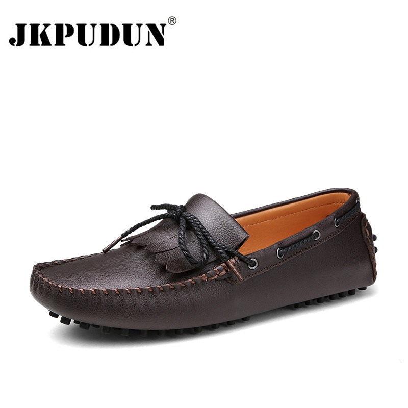 black loafers driving shoes casual slip on mens flat