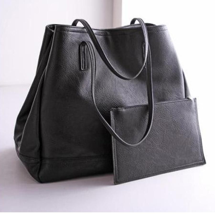 bolsas de couro shoulder bag Hand Bags Large Luxury Brand PU Leather Shoulder To