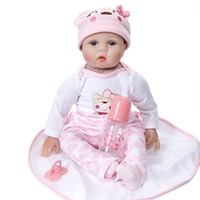 npk collection bebe reborn with silicone body 50 cm newborn baby dolls solid cheaper price toys for girls reborn bebe dolls toys