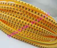 1200pcs Box Cable Marker EC 0 0 5mm2 ABCDEFGHIJ 12 Different Letter And Digital Mark Cable
