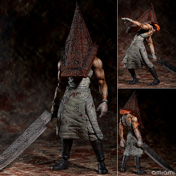 FREEing Figma SP-055 Silent Hill 2 Red Pyramid Thing Figure IN STOCK in retail box Replica the red pyramid