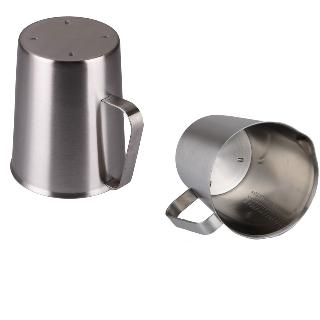 21273574f07 Best Sale 500ml/1000ml/1500ml Stainless Steel Cup Graduated Glass Liquid  Measuring Cups High Quality Kitchen Useful Tools-in Mugs from Home & Garden  on ...