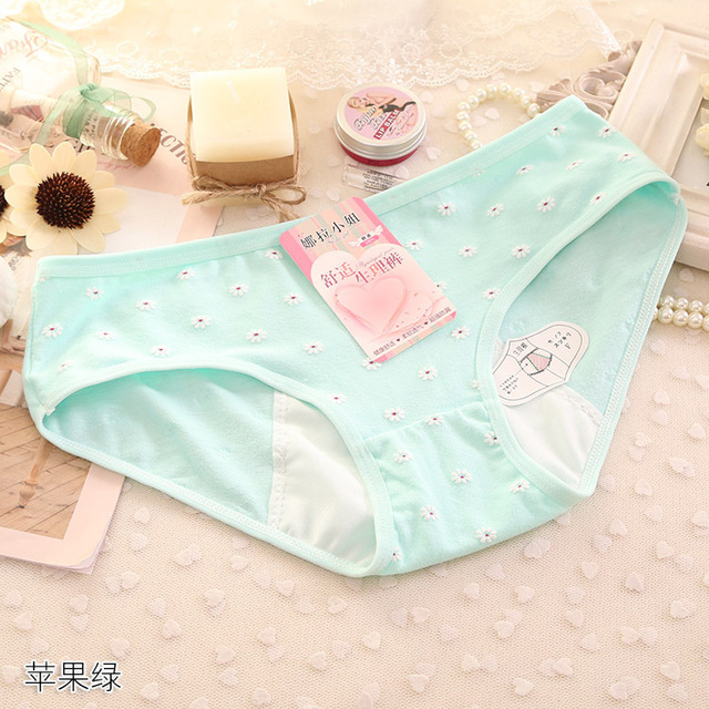 Women Cotton Physiological Underwear Panties