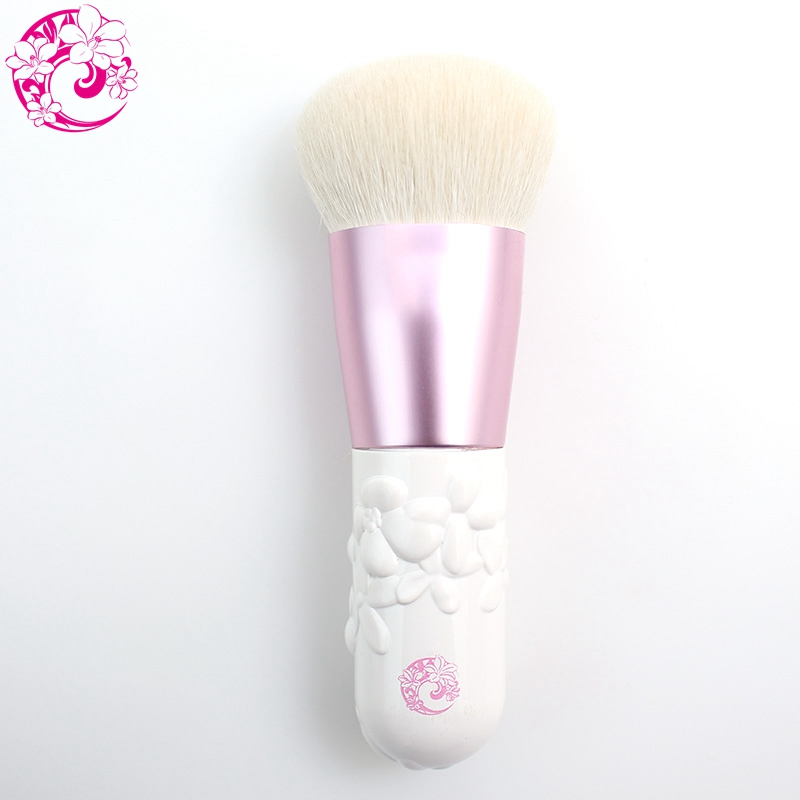 ENERGY Brand Camellia Goat Hair Kabuki Powder Brush Makeup Brushes Make Up Brush Pincel Maquiagem Brochas Maquillaje S40GP h01 professional makeup brushes squirrel hair sokouhou goat hair powder brush walnut wood handle cosmetic tools make up brush
