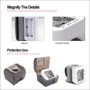Image 4 - RZ Kỹ Thuật Số Áp Cổ Tay PulseHeart Đánh Đồng Hồ Đo Nhịp Thiết Bị Thiết Bị Y Tế Tonometer BP Mini Máy Đo Huyết Áp