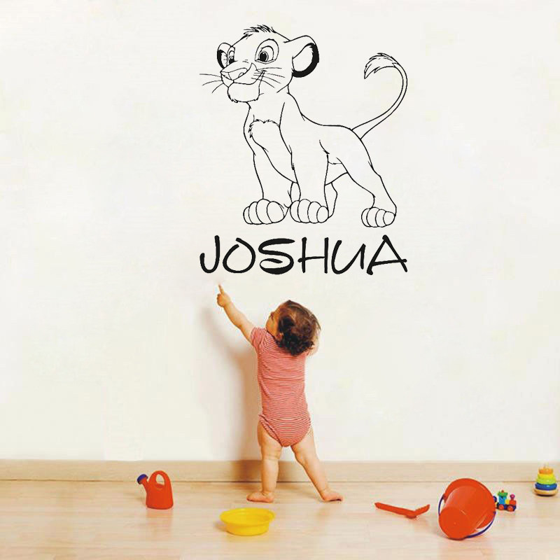 Online Shop Original Watercolor Lion King Simba Baby Poster Print