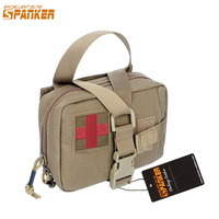 Spanker Outdoor Tactical Activity First Aid Bags Molle Medical Survival Pouch Emergency Military 1050D Nylon Outdoor