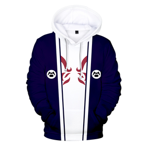 Image 5 - 뜨거운 애니메이션 나루토 후드 티 스웨터 소년/소녀 레저 긴 소매 스웨터 3d 나루토 카카시 인쇄 후드