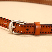 Women Fashionable Leather Belt