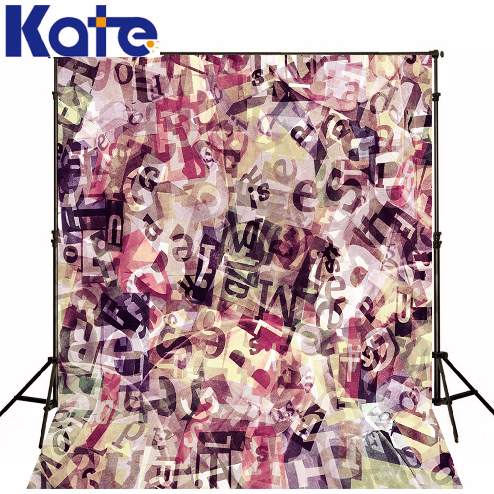 Kate 10x10ft Art Children Photography Backdrops Graffiti Wall Photo Booth Backdrop Purple Photography Backdrop For Photo