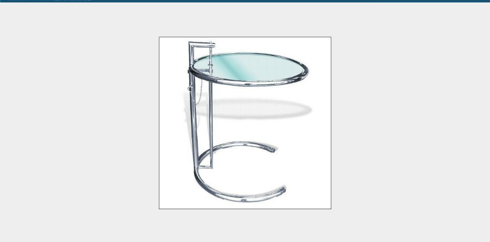 Small Round Side Tables, Modern Glass Coffee Tables, Metal Frame Tea Table