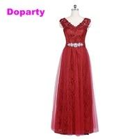 2015 Elegant Long Sleeveless V Neck Formal Mother Of The Bride Dubai Kaftan Red Wine Purple