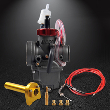 Nibbi Universal Racing Performance Carburetor Modified Kit PE 26mm for 125CC~140CC Engine Scooter GY6 Minibike Dirt Bike