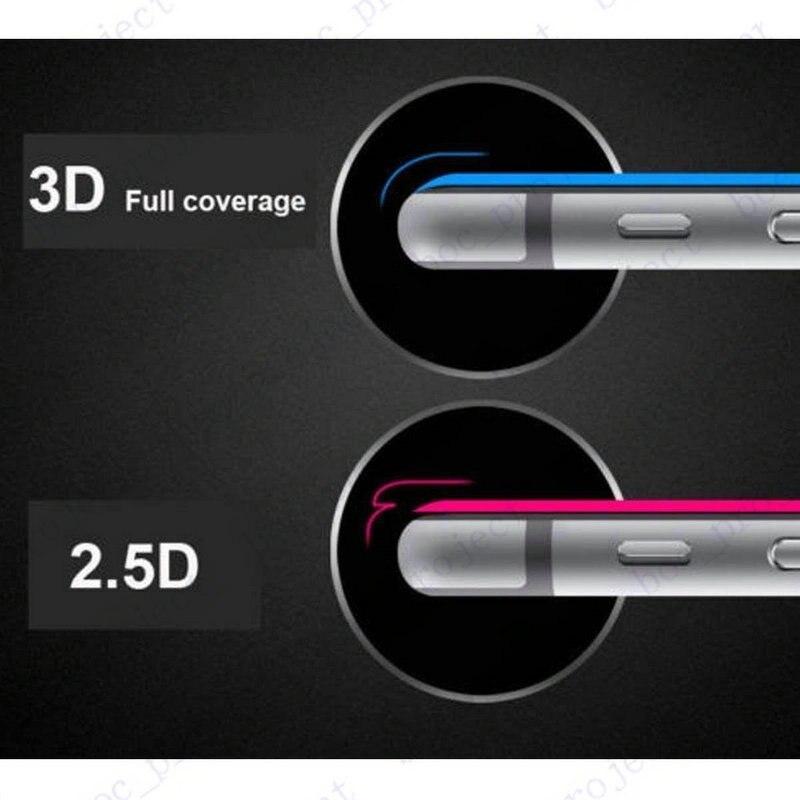 3D Buruq Edge Tam Örtüklü Cib telefonu Temperli Şüşə Ön - Cib telefonu aksesuarları və hissələri - Fotoqrafiya 6