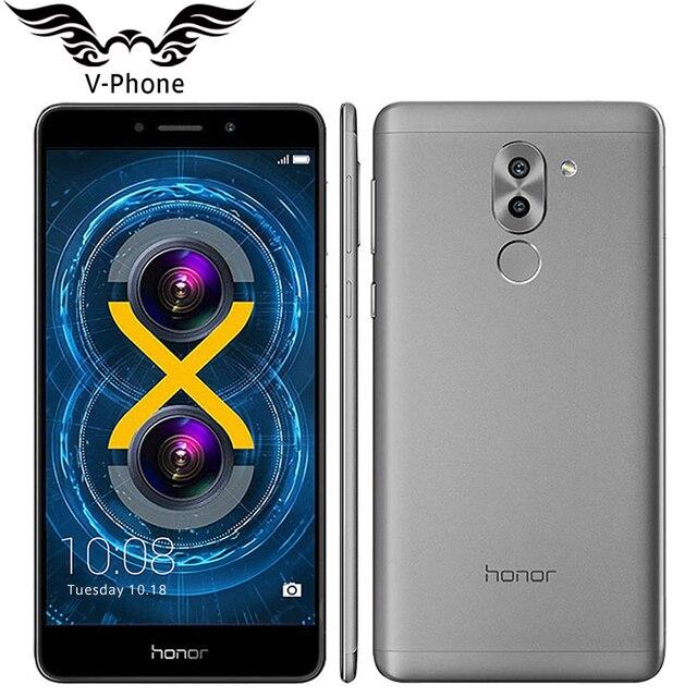 Оригинальный Huawei Honor 6x4 г LTE мобильный телефон 5.5 дюйма KIRIN 655 Octa core 3 ГБ Оперативная память 32 ГБ Встроенная память 1920*1080 двойной сзади Камера отпечатков пальцев