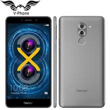 Ursprünglicher Huawei Honor 6X4G LTE Handy 5,5 zoll Kirin 655 Octa-core 3 GB RAM 32 GB ROM 1920*1080 Dual Rückfahrkamera Fingerabdruck
