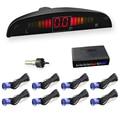 Parktronics 8 Original Parking sensors 4 Back sensors 4 Front sensors 22mm LED display car detector Parking System