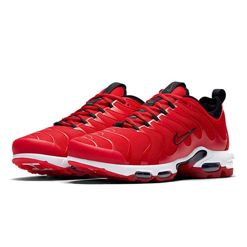 Nova Chegada Original Oficial Nike Air Max Mais Tn Ultra 3M dos homens Respirável Sapatos Tênis de corrida Esportes Tênis Formadores