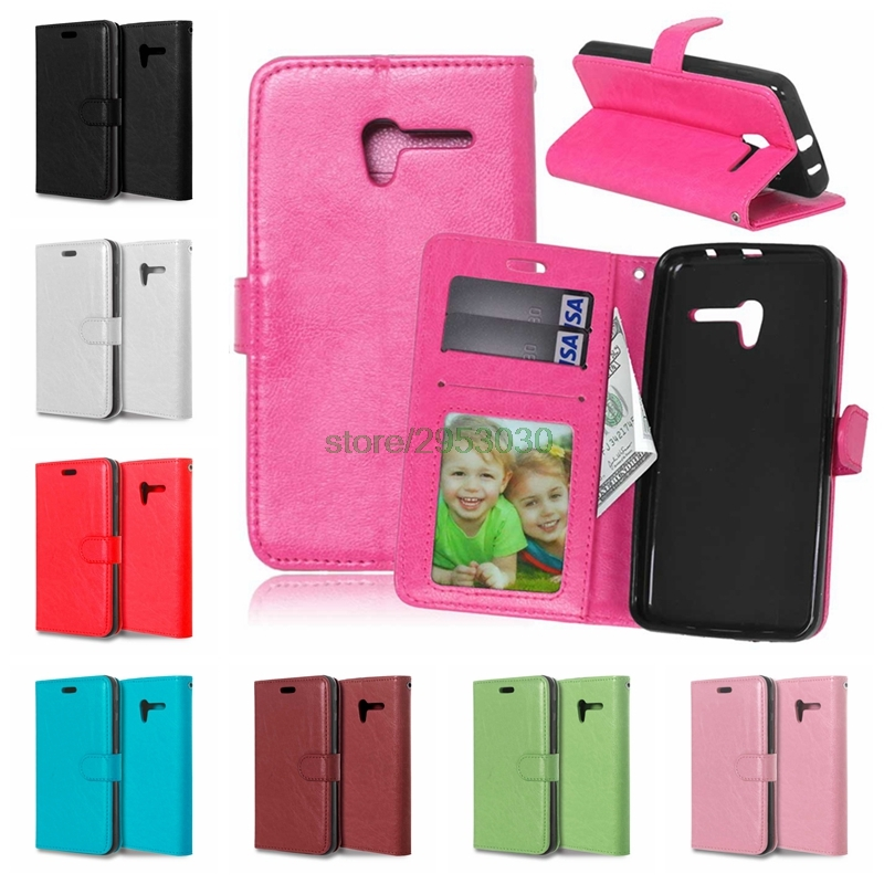 For Alcatel One Touch Pop 3 (5) 5016A 5016J 5015D 5015E 5065D Dual Sim Pop3 5065A 5015A Phone Solid color Leather Cover Case