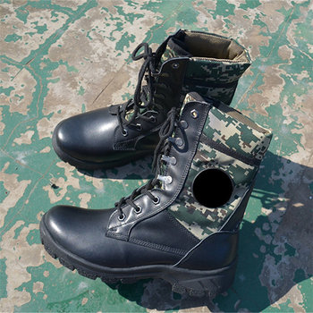 Men Boots Winter Leather wear-resisting For Mountain Outdoor Tactical Male Boots #MXZ8218116