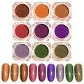 1 Unidades 9 colores born pretty estrellado láser holográfico polvo polvo del brillo del clavo de la manicura del arte del clavo decoraciones conjunto