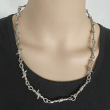 Exaggerated Heavy Necklace Punk Choker Women Goth Night Club Jewelry Chocker Gothic Ketting Hiphop Kolye