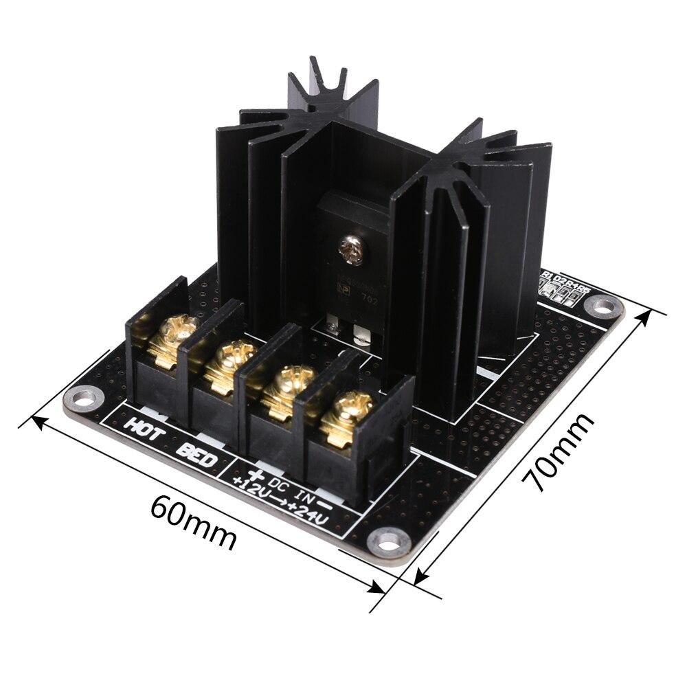 Parte de la impresora 3D placa de expansión MOSFET módulo de energía térmica tubo MOS módulo de carga de alta corriente máxima 30A