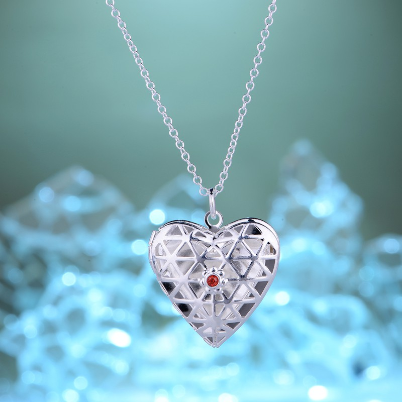 silver plated Necklace 925 jewelry silver Pandant Fashion Jewelry QNSWGINO