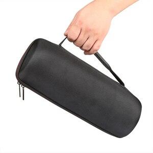 Image 4 - Twarde torby głośnikowe EVA Carry Zipper + miękki futerał silikonowy pokrowiec na głośnik JBL Charge 4 Bluetooth do głośników JBL CHARGE4