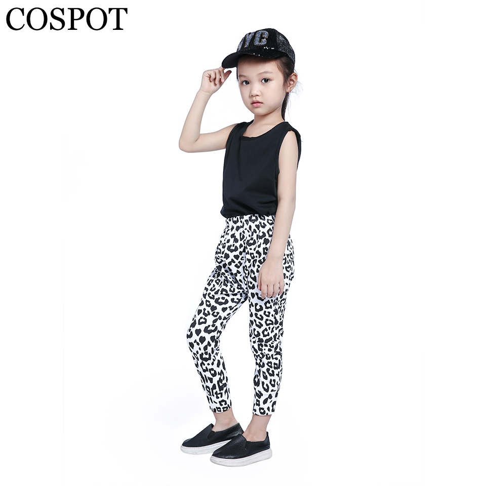 Baby Boys Girls Snow Leopard Harem Pants Baby Boys Girls Cotton Harems Leggings para niños recién nacidos 2019 Nueva llegada 22