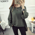 YiZiKKCO Brand Woman Sweaters Pullovers 2016 New Autumn Winter Knitted Sweater Womens Pullover Pull Femme Sweter Mujer WHD440