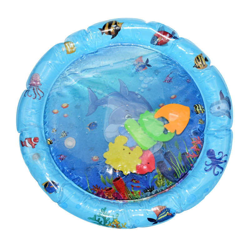 HTB1oAzzRNTpK1RjSZFKq6y2wXXaV Baby Inflatable Patted Pad Multifunction Water Play Mat Creative Toddler Activity Sensory Stimulation Cushion Crawling Kids Toy