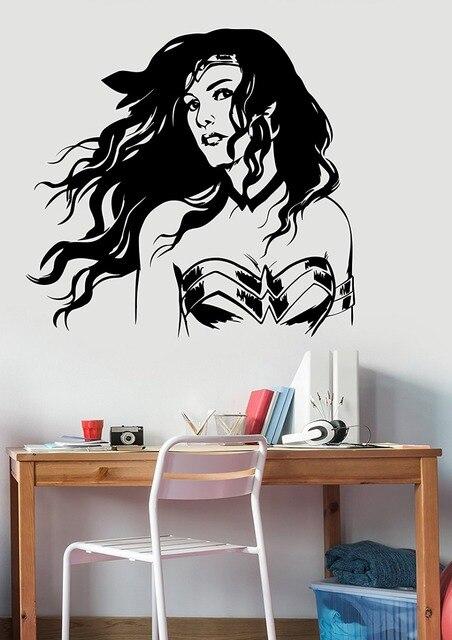 Resultado de imagem para quarto feminino adolescente mulher maravilha