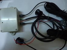 Waterproof ultrasonic ranging module (2 probe transceiver) / sensor driving test Robotics
