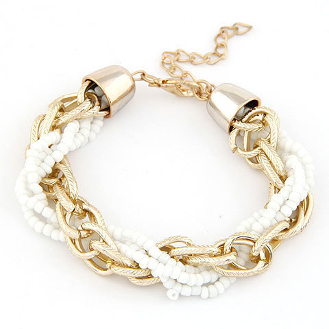 Wide Chain Bracelet