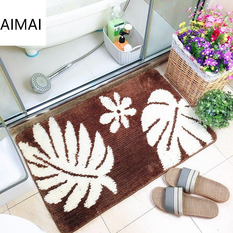 Strong Absorbent Non Slip Bath Mat Rug And Carpet Super Soft Shaggy