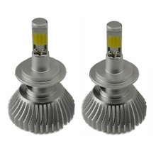 цена на 2 pcs Car Led Headlight Bulbs Lamp H4 H7 H11 72W/pair H8 HB4 H1 H3 HB3 Auto Car High Low Beam 6000K 12V Light Source