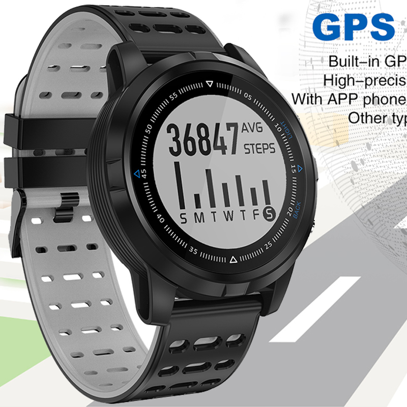 GPS Watch Smart Heart Rate Monitor Waterproof Sports Smart Watch Men Women Sports Running Bluetooth Fitness Smart Watches Clock