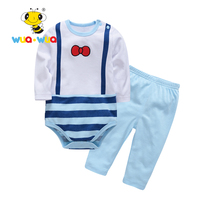 Baby Sets New Kids Clothes Boy Girl Baby Long Sleeve Casual Suits Cute Baby Clothing Free