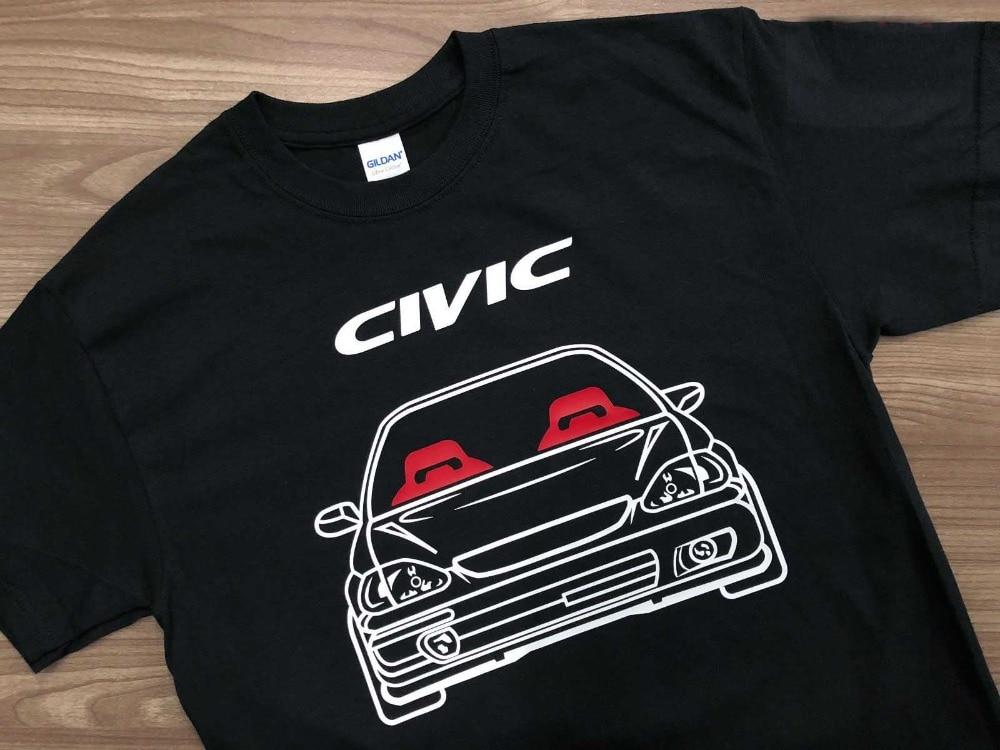 2019 Hot Sale 100% cotton Classic Japanese car fans Civic ...