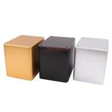 Caja de cierre para amplificador de tubo de Audio Hifi, cubierta protectora de triodo de aluminio completo de 130x100x116mm, para bricolaje, 1 unidad