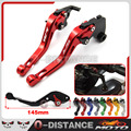 Hot Selling Motorbike Brakes CNC Aluminum short Brake Clutch Levers For Yamaha YZF-R1 YZFR1 2004-2008 Red