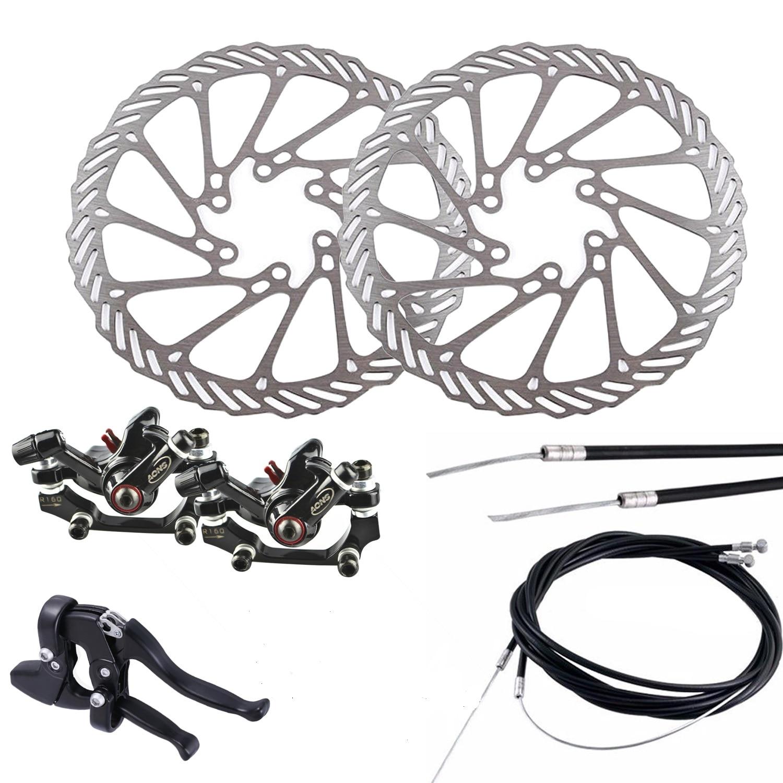 Outdoor MTB Bike Bicycle Cycling Aluminum Alloy V-Brake Set Front+Rear Parts